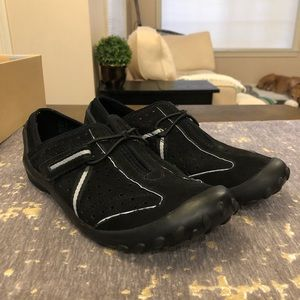 Privo by Clarks Black Nubuck Tequini Shoes